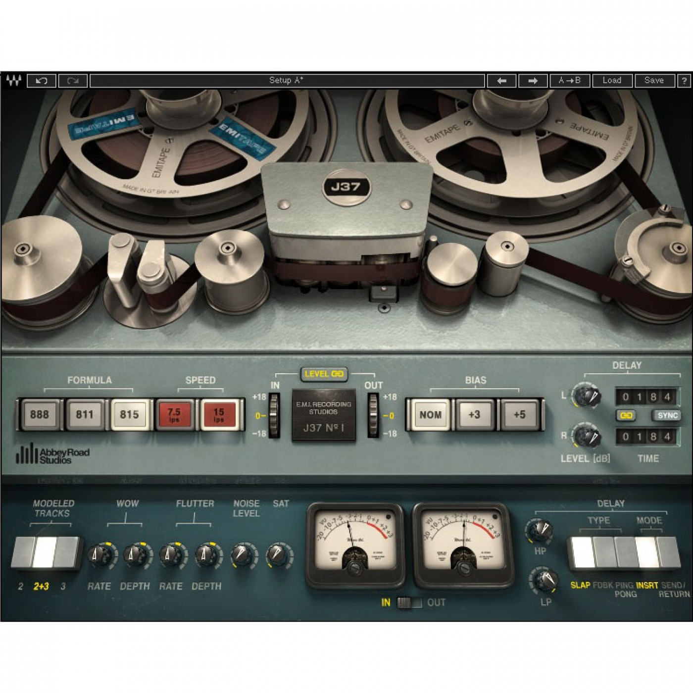 Waves J37 Tape Saturation | Rage Audio