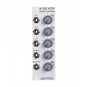 Doepfer A-102 Diode Low Pass Filter
