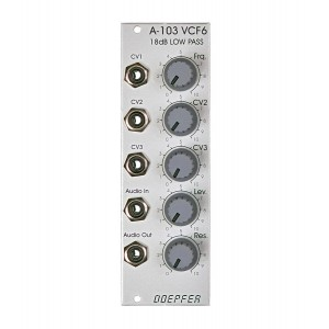 Doepfer A-103 18dB Low Pass Filter