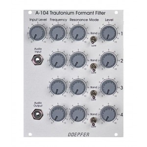 Doepfer A-104 Quad Resonance Filter