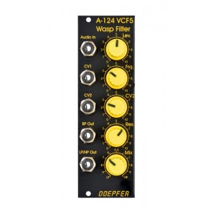Doepfer A-124 Wasp Filter Black/Yellow