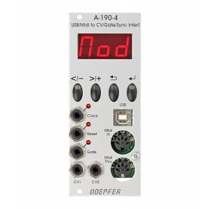 Doepfer A-190-4 USB/MIDI-to-CV/Gate/Sync Interface