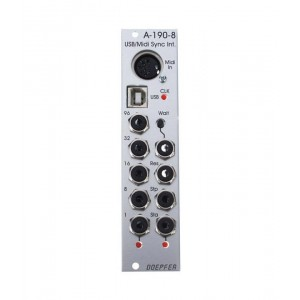 Doepfer A-190-8 USB/Midi-to-Sync Interface