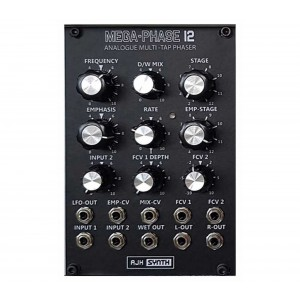 AJH Synth MEGA-PHASE 12 Black
