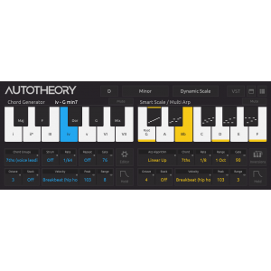 Mozaic Beats AUTOTHEORY 5 Music Composition Tool