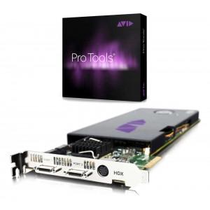Avid PRO TOOLS HDX Core con PRO TOOLS HD