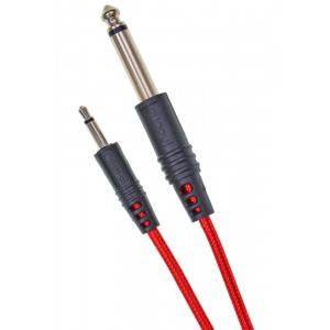 Cable Puppy Cable Jack 3.5 a 6.3mm 150cm Red