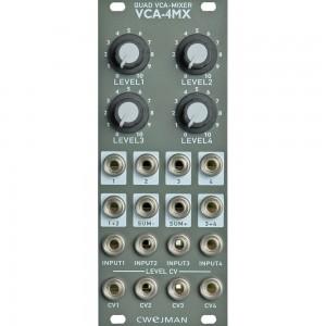 Cwejman VCA-4MX Quad VCA / Mixer