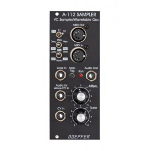 Doepfer A-112 Sampler Wavetable Vintage Edition