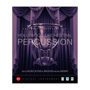 EastWest HOLLYWOOD ORCHESTRAL PERCUSSION Gold