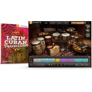 Toontrack EZX Latin Cuban Percussion