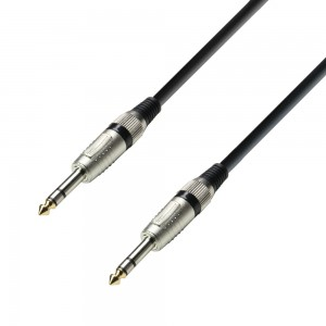 Adam Hall Cable 3 Star Jack 6,3mm estéreo a Jack 6,3mm estéreo 6m