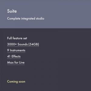 Ableton Live 10 Suite Actualización desde Live 9 Suite