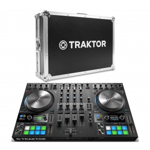 Native Instruments TRAKTOR KONTROL S4 MK3 + Flightcase