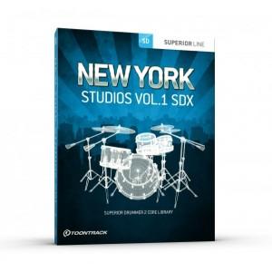 Toontrack SDX NEW YORK STUDIOS Vol 1