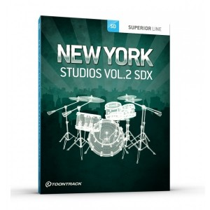 Toontrack SDX Expansion Pack: The Lost New York Studios Vol 2