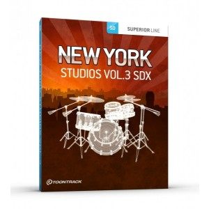Toontrack SDX NEW YORK STUDIOS Vol 3