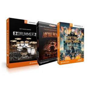 Toontrack EZDRUMMER 2 Metal Bundle