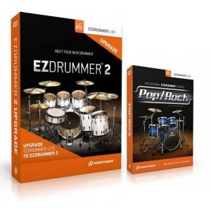 Toontrack EZDRUMMER 2 + EZX Pop Rock