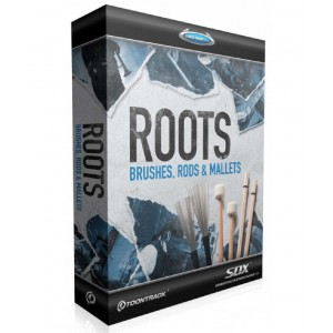 Toontrack SDX SDX: Roots Brushes, Rods & Mallets