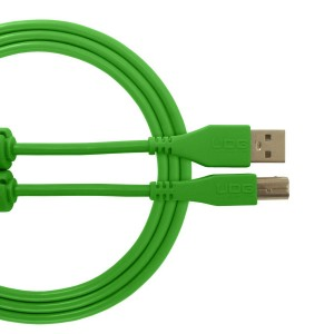 UDG Cable USB 2.0 A-B Green Straight
