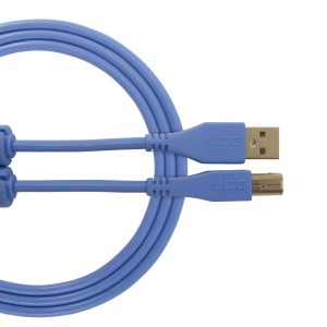UDG Cable USB 2.0 A-B Blue Straight