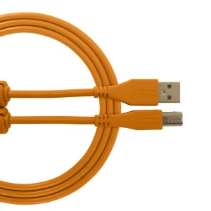 UDG Cable USB 2.0 A-B Orange Straight