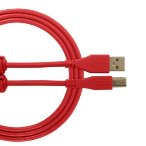 UDG Cable USB 2.0 A-B Red Straight