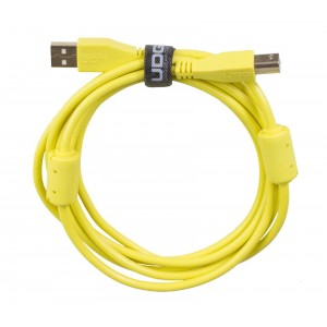 UDG Cable USB 2.0 A-B Yellow Straight