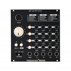 Vermona Modular qMI2 - quad MIDI interface